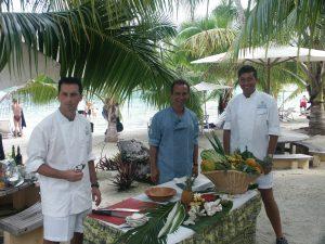 Daniel Daoulas participe à une émission culinaire américaine à TAHITI